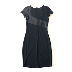 NWT French Connection black mini dress 4